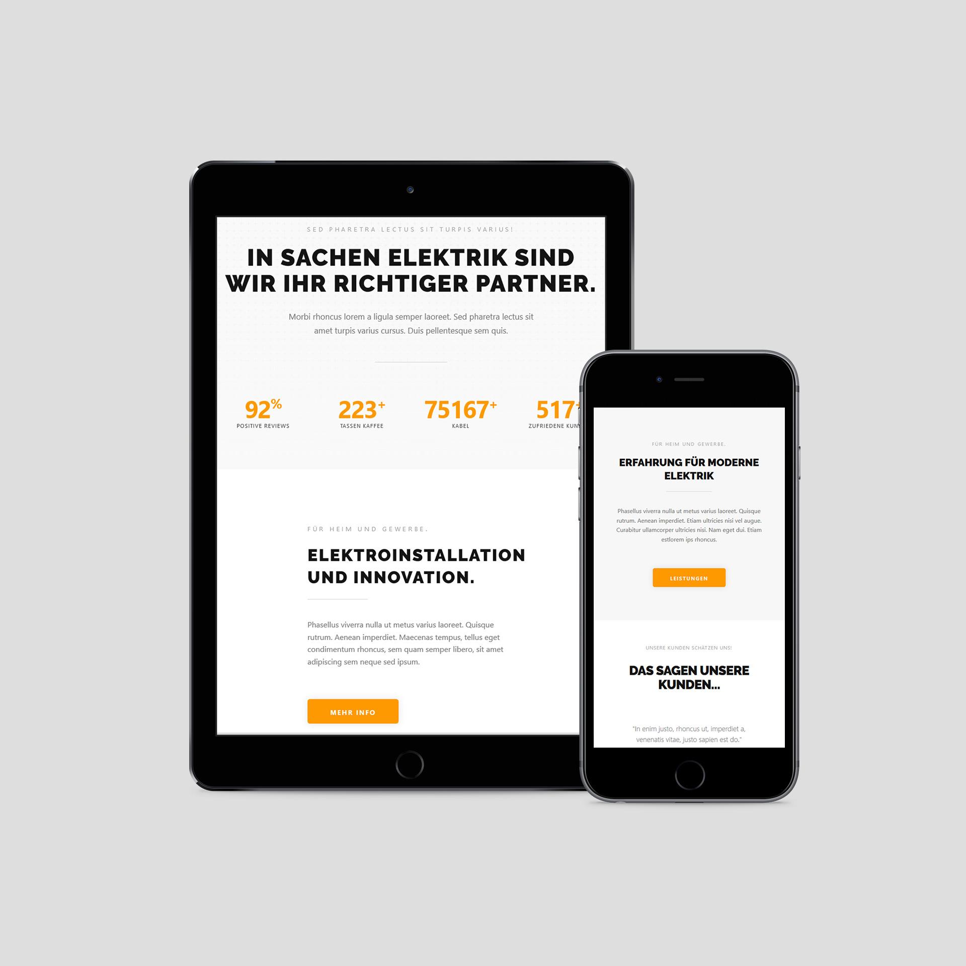 Homepage Design Dortmund